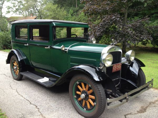 Hudson Super Six 1916 - 1928 Sedan #6