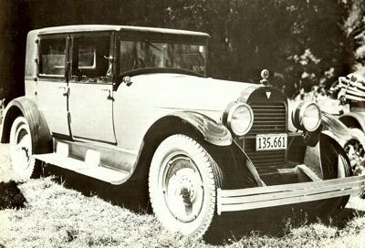 Hudson Super Six 1916 - 1928 Sedan #3