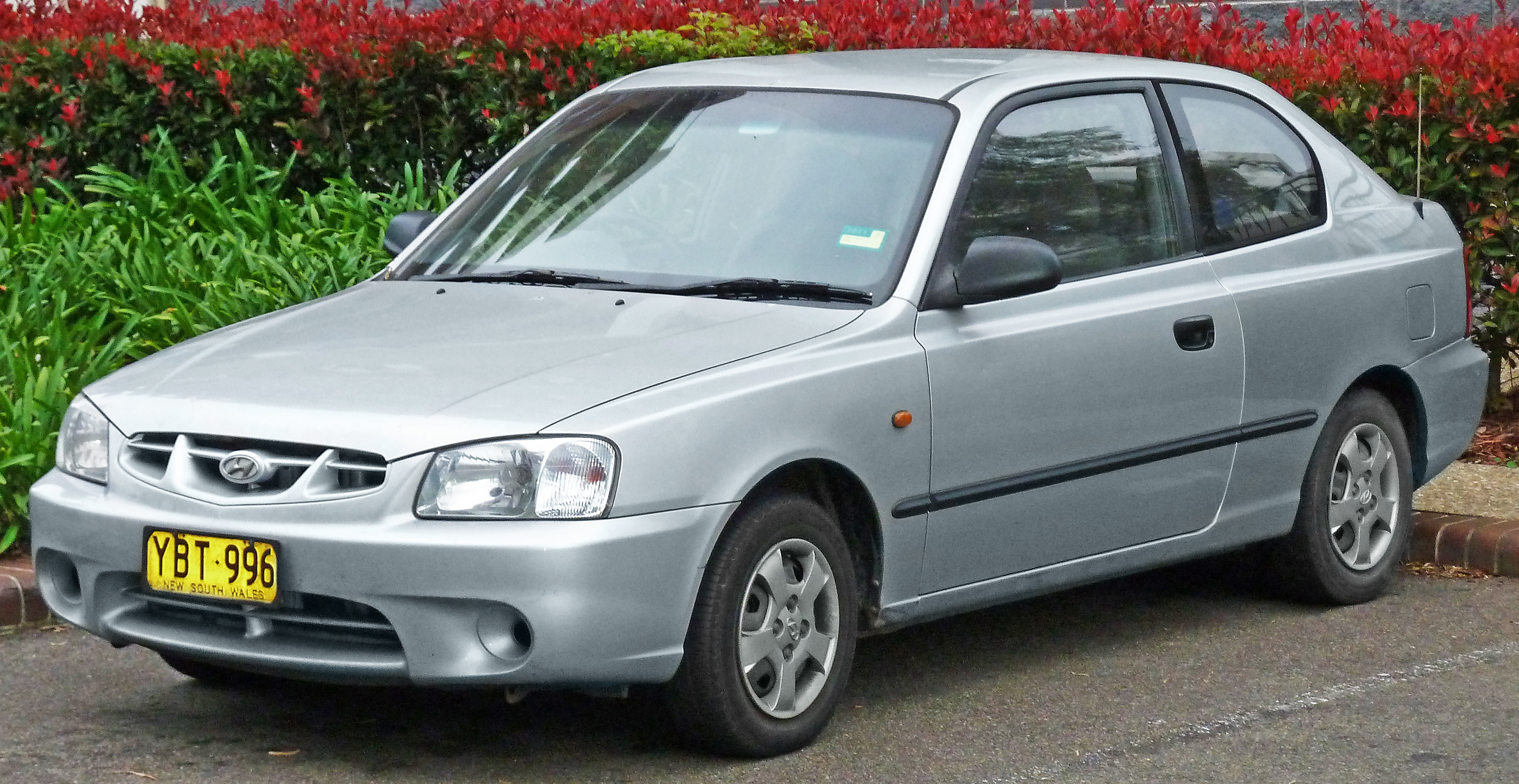 Hyundai Accent II Restyling 2003 - 2006 Hatchback 3 door #5