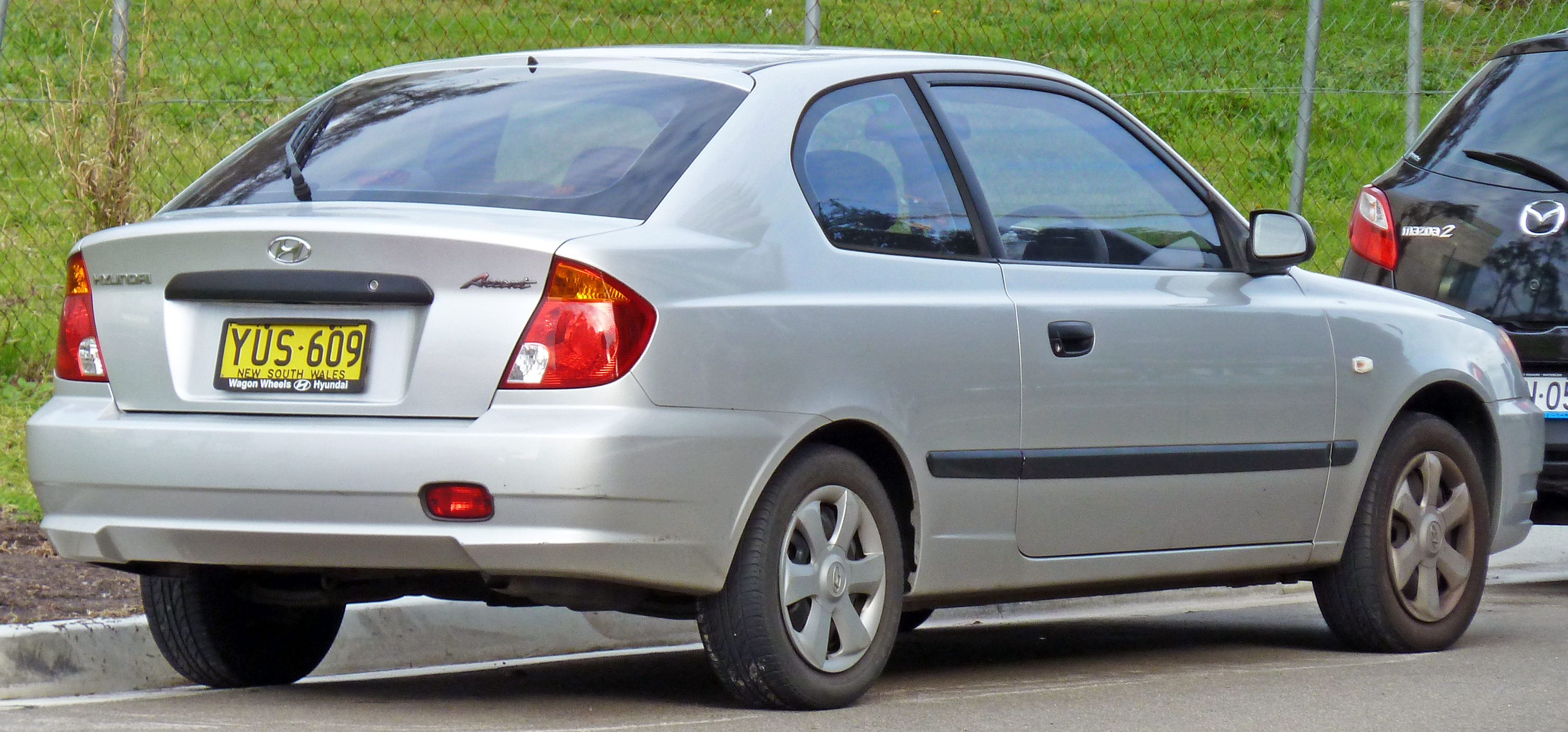 Hyundai Accent II Restyling 2003 - 2006 Hatchback 3 door #4