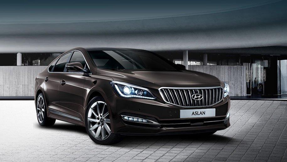 Hyundai Aslan 2014 - now Sedan #6