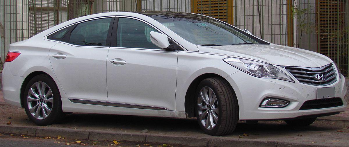 Hyundai Grandeur V 2011 - 2016 Sedan #8