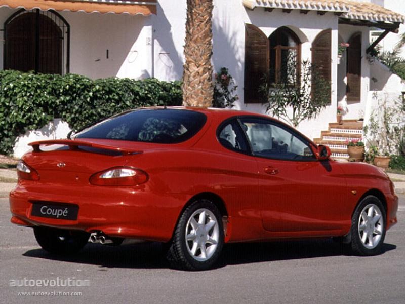 Hyundai Coupe I (RD) 1996 - 1999 Coupe #1
