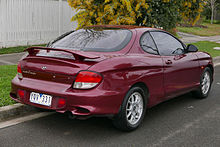 Hyundai Coupe I Restyling (RD2) 1999 - 2002 Coupe #8