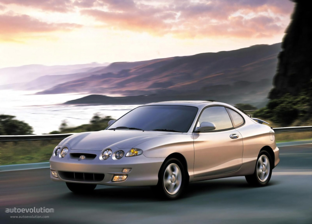Hyundai Coupe I Restyling (RD2) 1999 - 2002 Coupe #6
