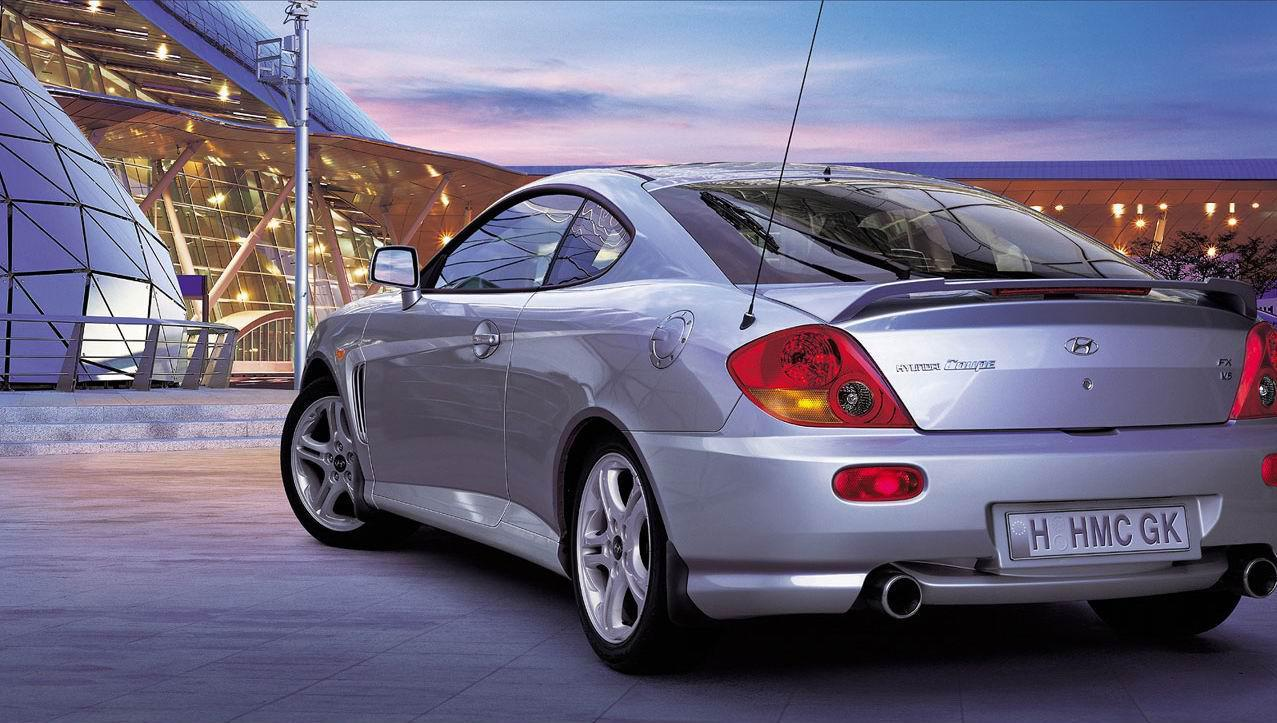 Hyundai Coupe I Restyling (RD2) 1999 - 2002 Coupe #1