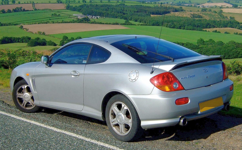 Hyundai Coupe II (GK) 2002 - 2007 Coupe #7