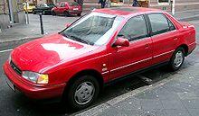 Hyundai Lantra I 1990 - 1995 Sedan #8
