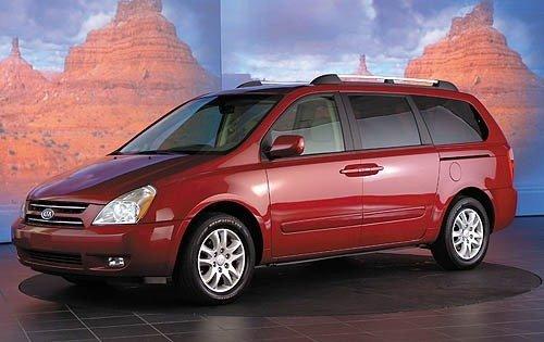 kia ex consumer van cars reports minivan mini sedona