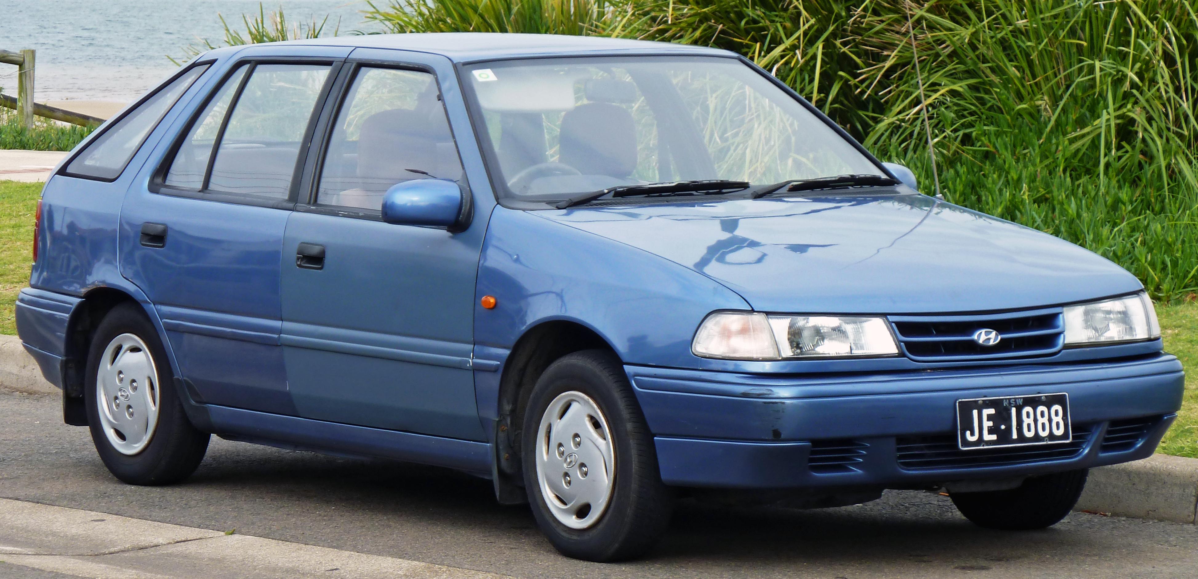 hyundai excel i 1985 1989 sedan outstanding cars rh carsot com Hyundai Excel Hatchback 2000 hyundai accent manual transmission fluid