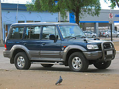 Hyundai Galloper 1991 - 2003 SUV 3 door #3