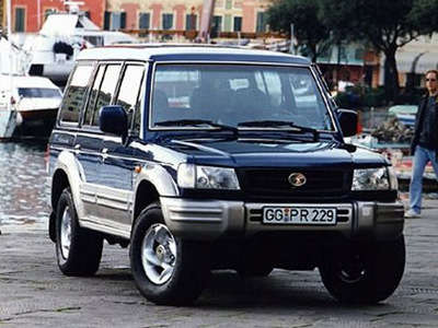 Hyundai Galloper 1991 - 2003 SUV 3 door #8