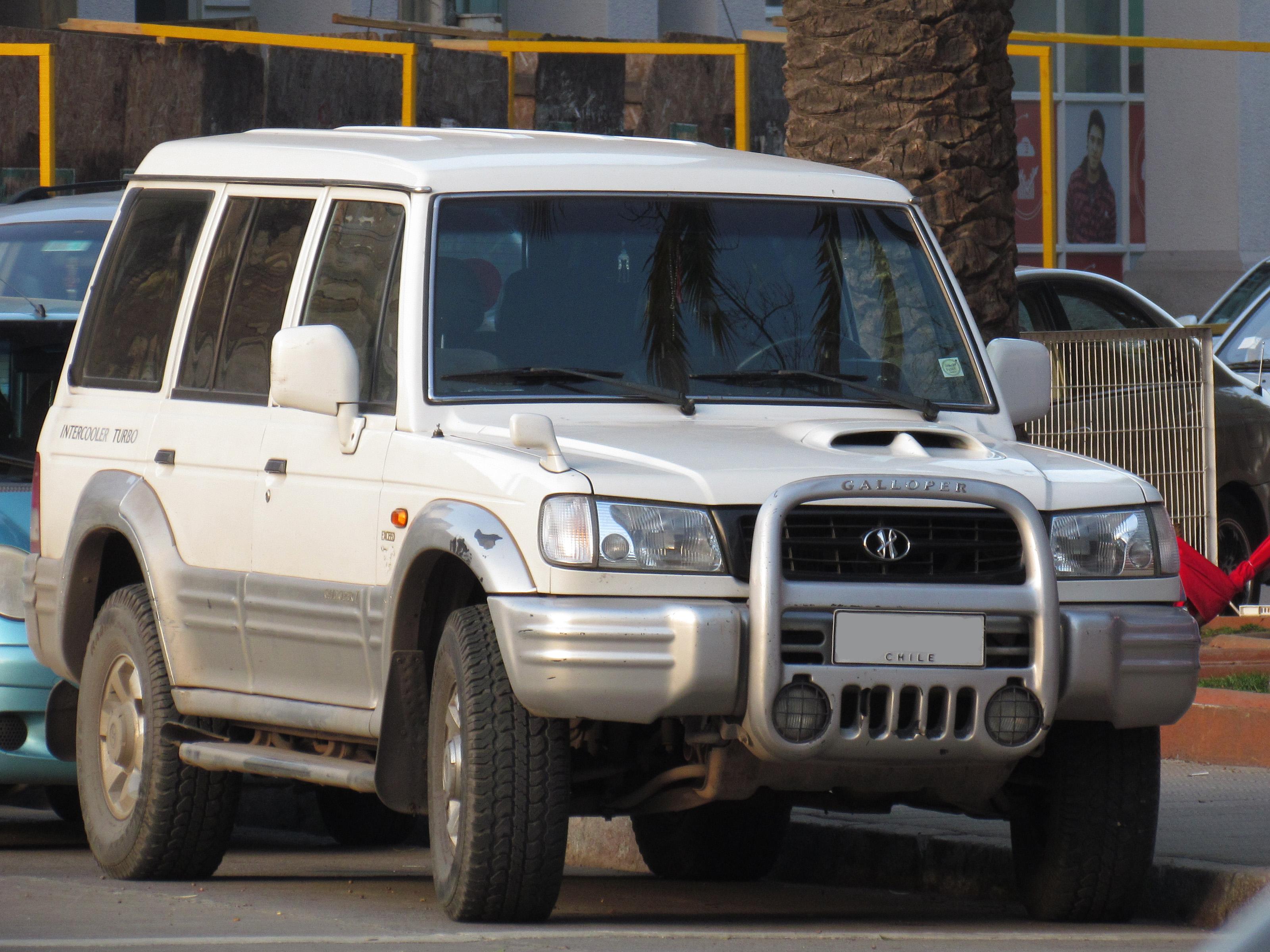 Hyundai Galloper 1991 - 2003 SUV 5 door #3