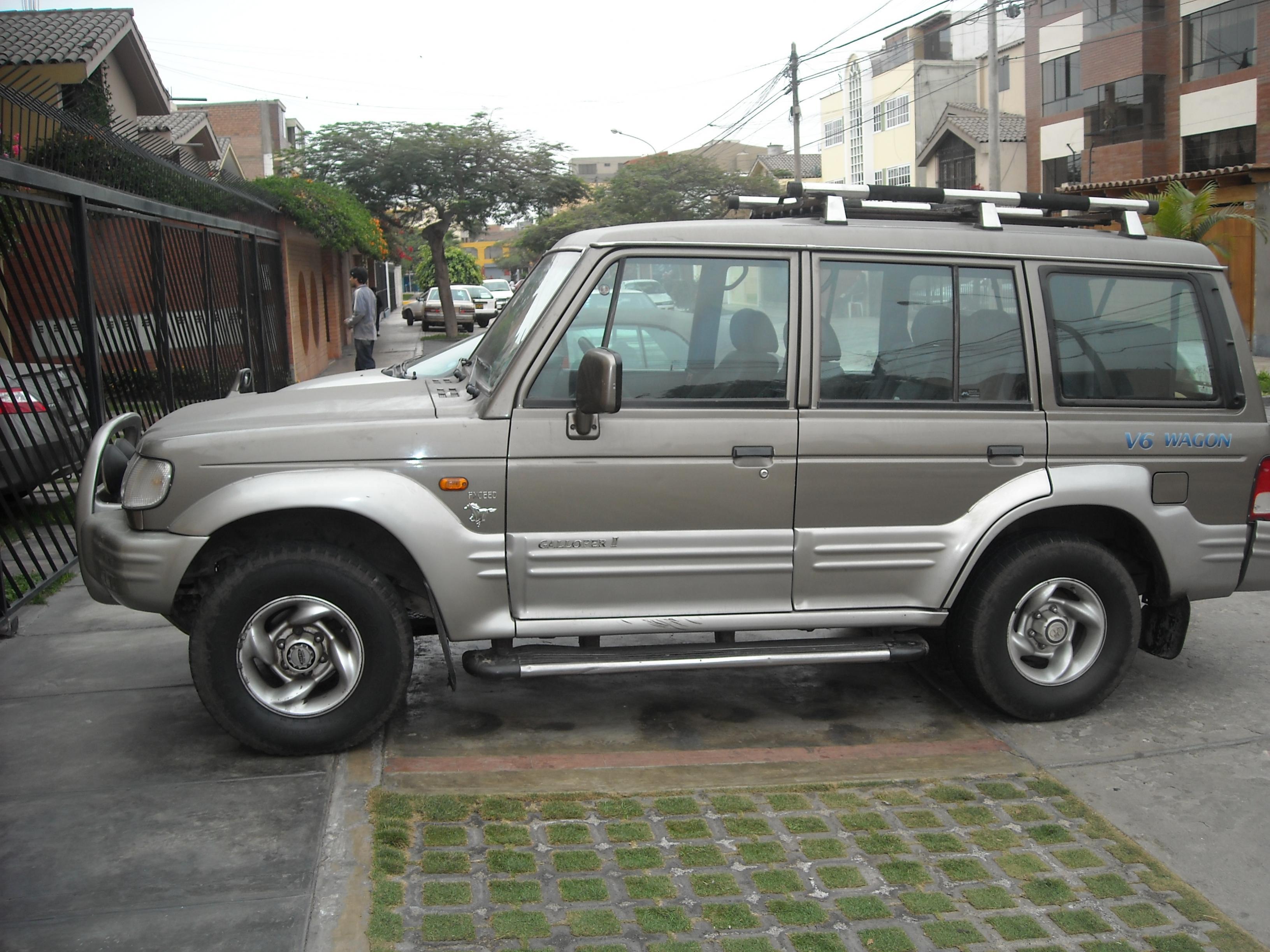 Hyundai Galloper 1991 - 2003 SUV 5 door #6