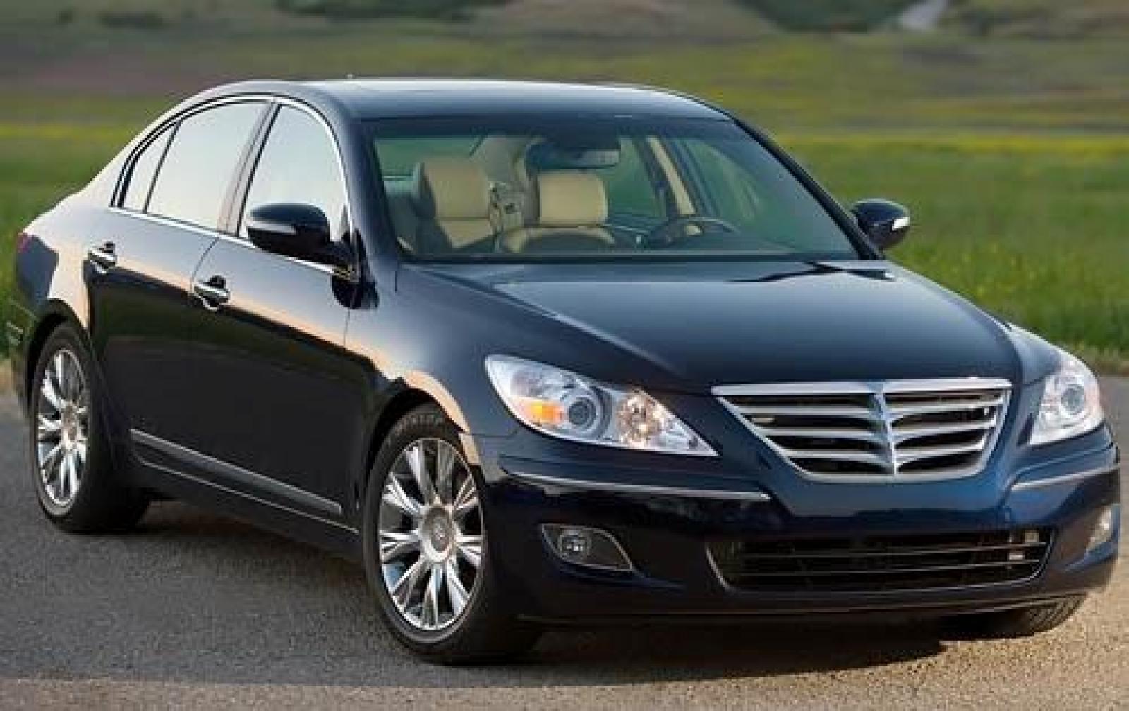 Hyundai Genesis I 2008 - 2011 Sedan :: OUTSTANDING CARS
