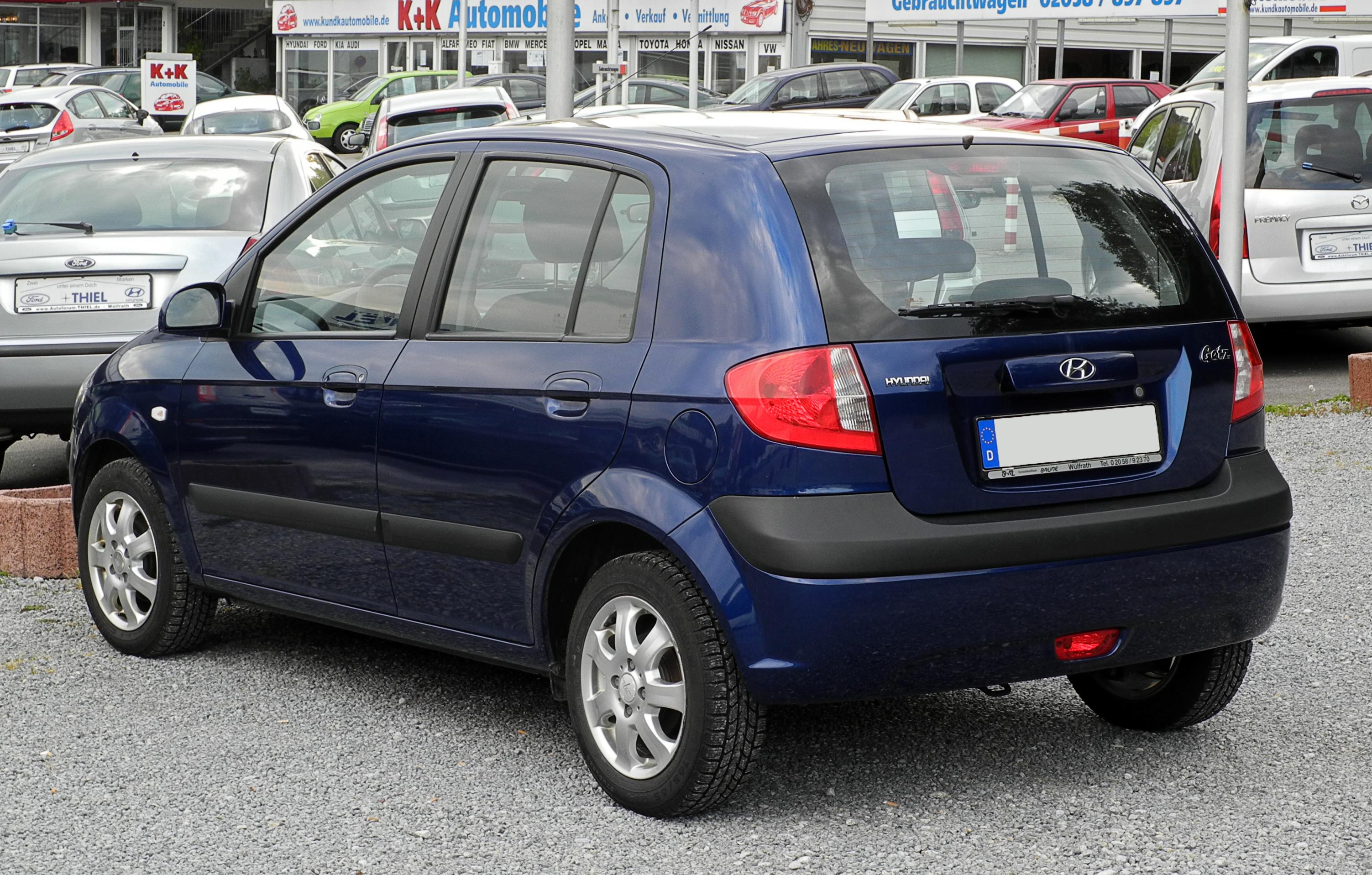 Hyundai Getz I Restyling 2005 - 2011 Hatchback 5 door #1