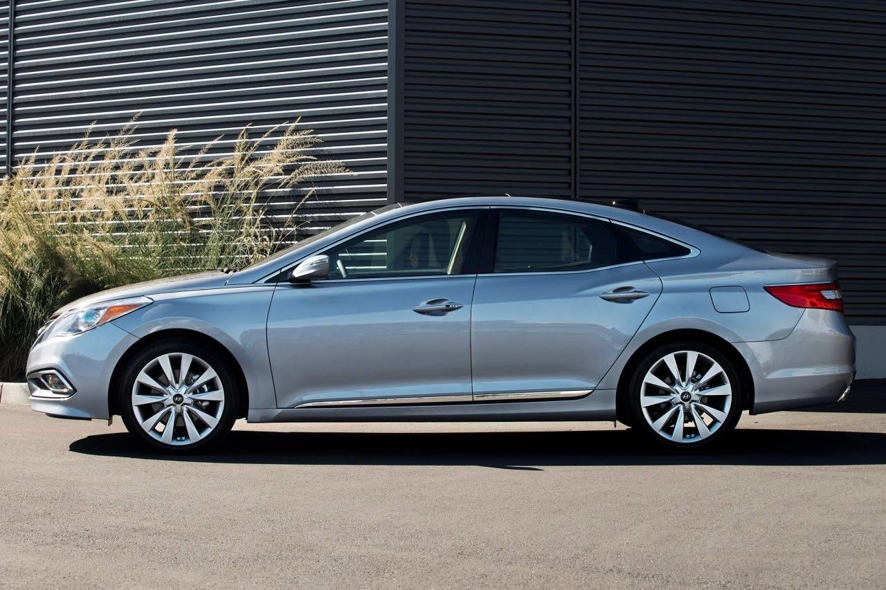 Hyundai Grandeur V 2011 - 2016 Sedan #6