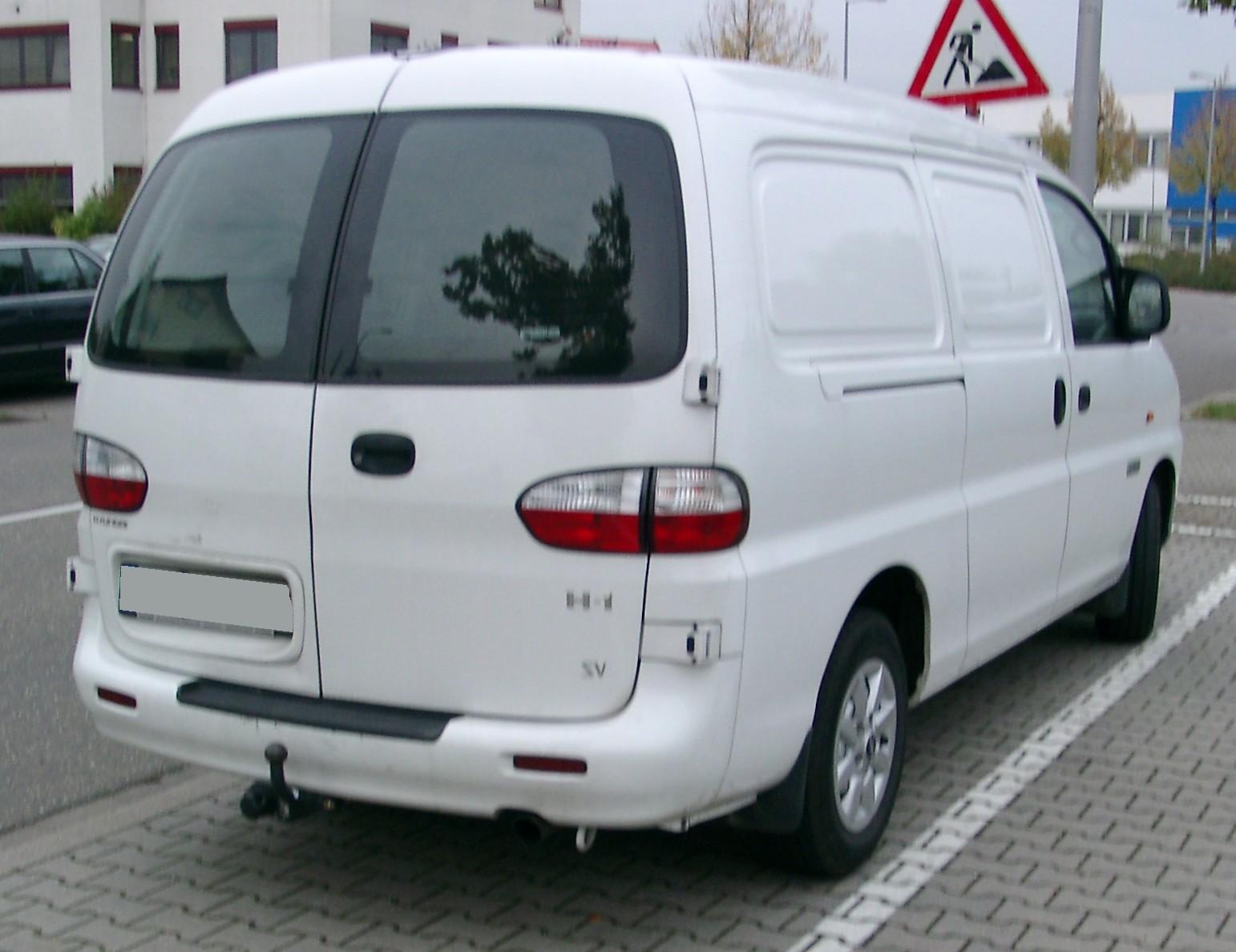 Hyundai H-1 I 1997 - 2004 Minivan #3