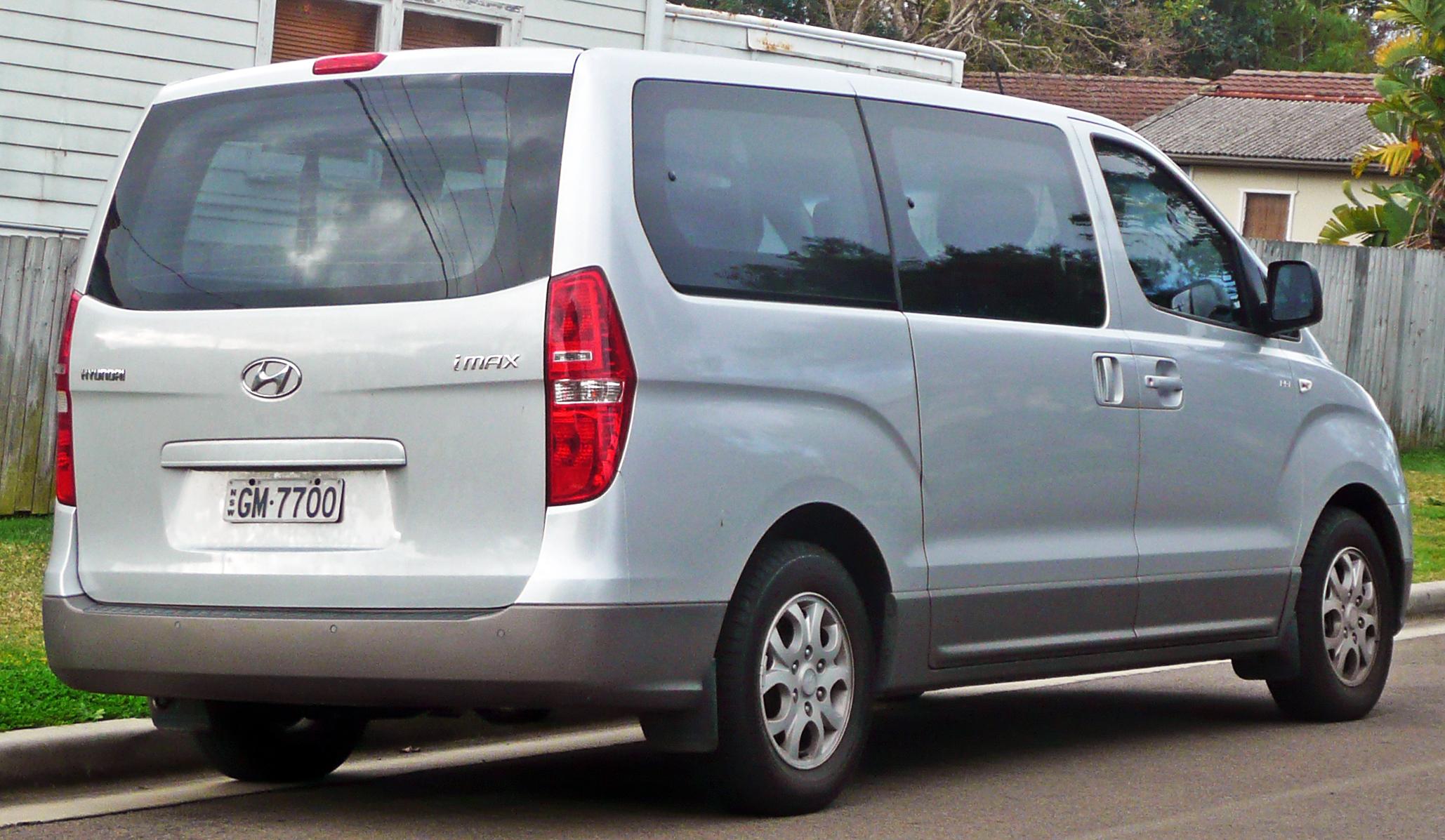 Hyundai H-1 I 1997 - 2004 Minivan #1