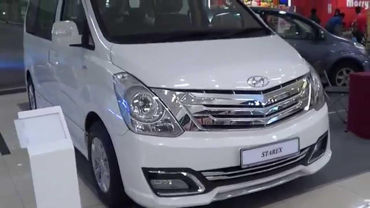 Hyundai H-1 II Restyling 2015 - now Minivan #3