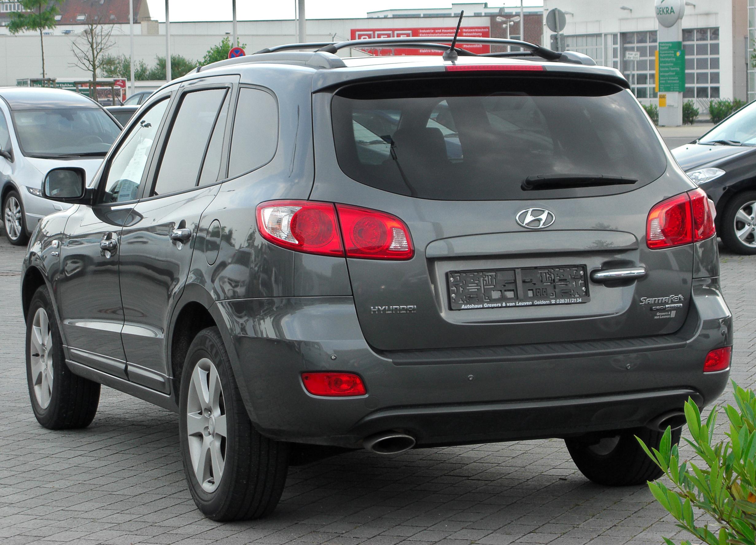 Hyundai Santa Fe II 2006 - 2010 SUV 5 door #4