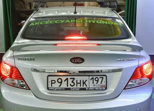 Hyundai Solaris I 2010 - 2014 Sedan #5
