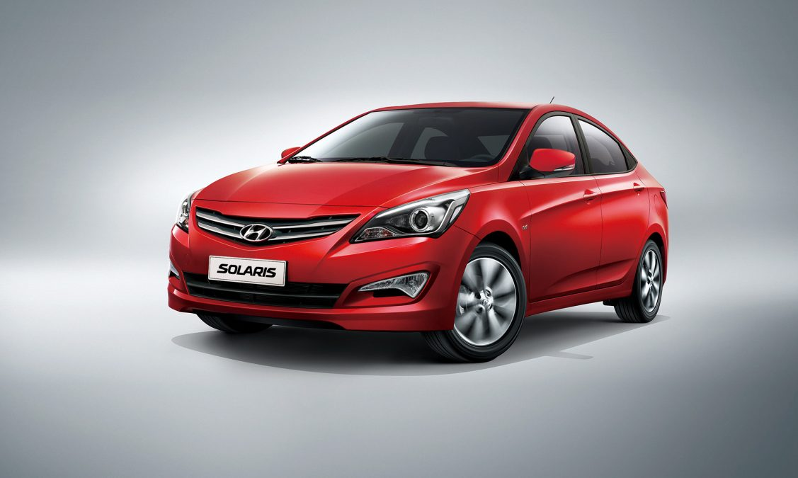 Hyundai Solaris I Restyling 2014 - now Hatchback 5 door #4