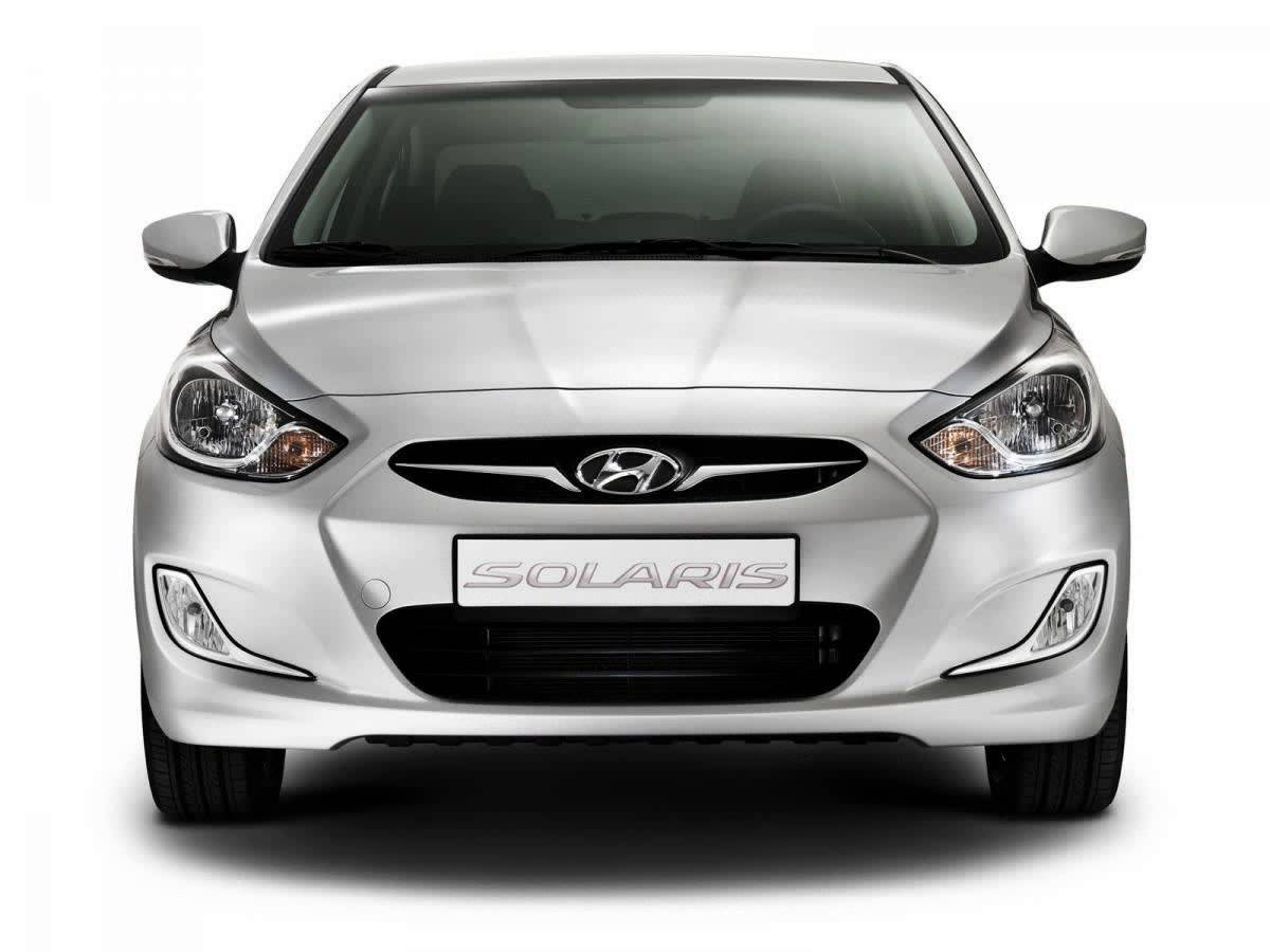 Hyundai Solaris I Restyling 2014 - now Sedan #7