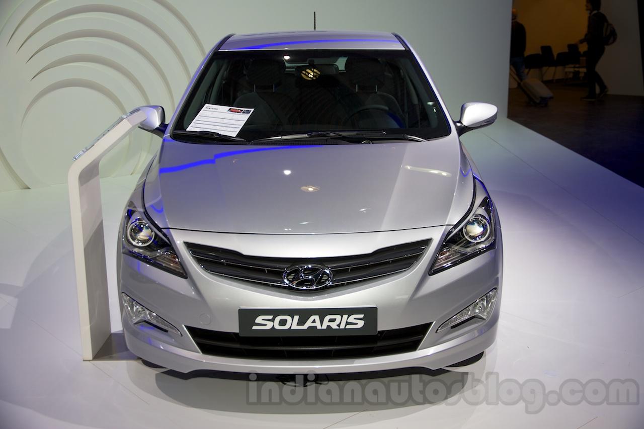 Hyundai Solaris I Restyling 2014 - now Sedan #1