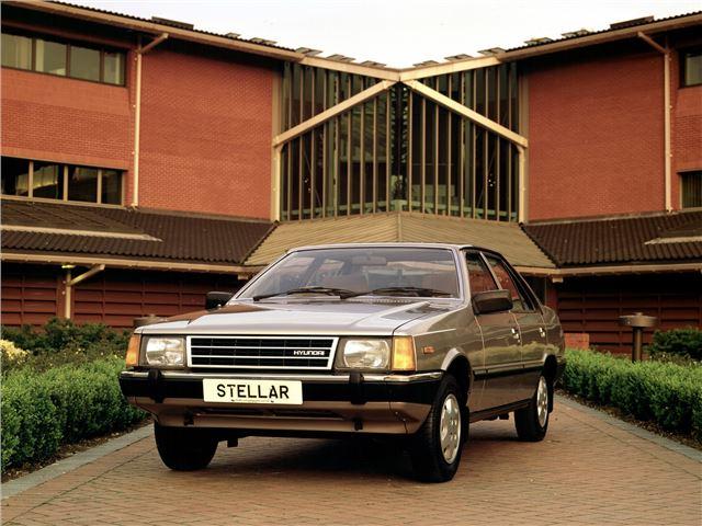 Hyundai Stellar 1983 - 1993 Sedan #1