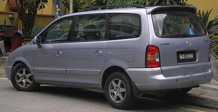 Hyundai Trajet I 1999 - 2004 Compact MPV #1