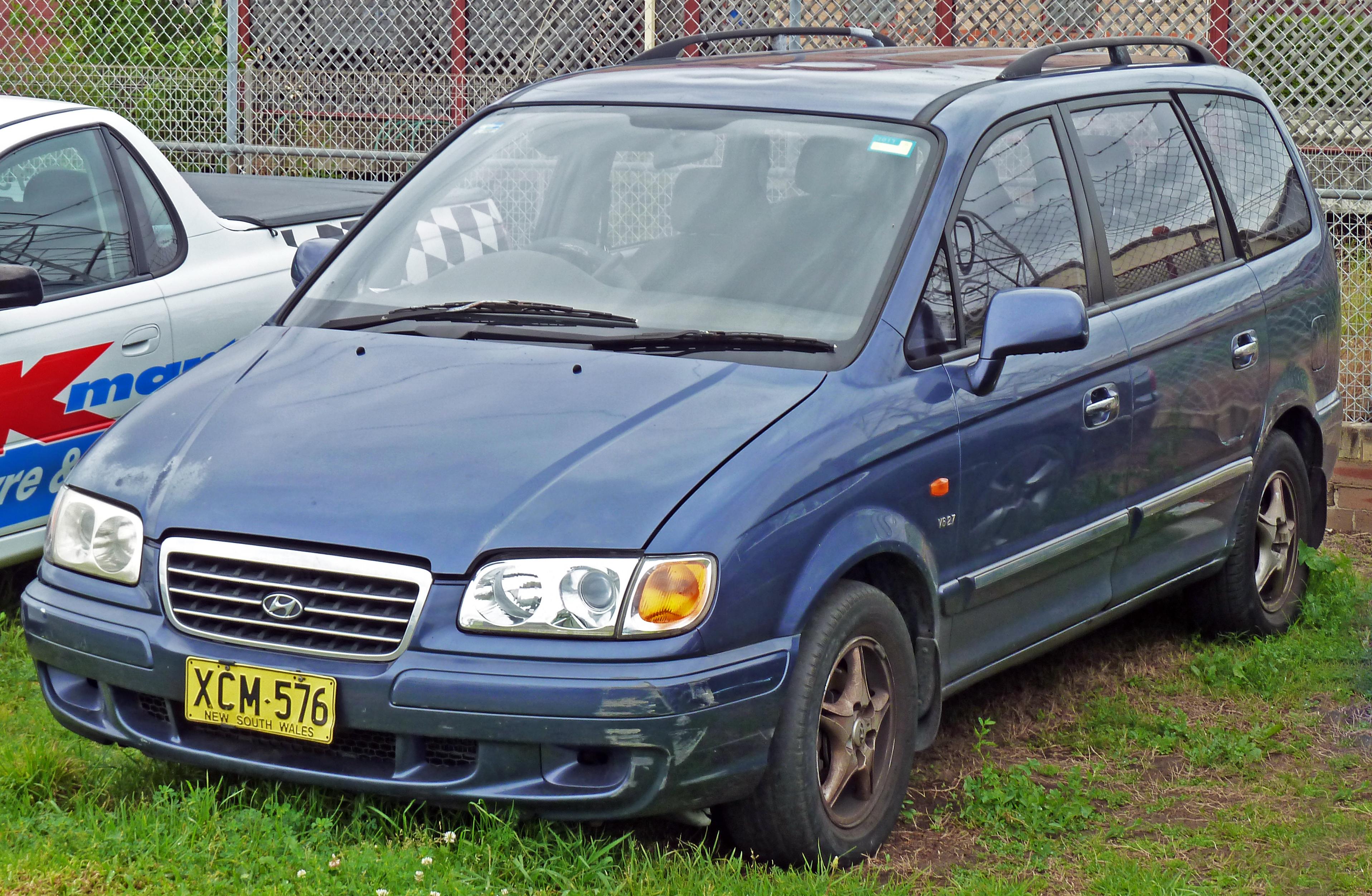 Hyundai Trajet I 1999 - 2004 Compact MPV #2