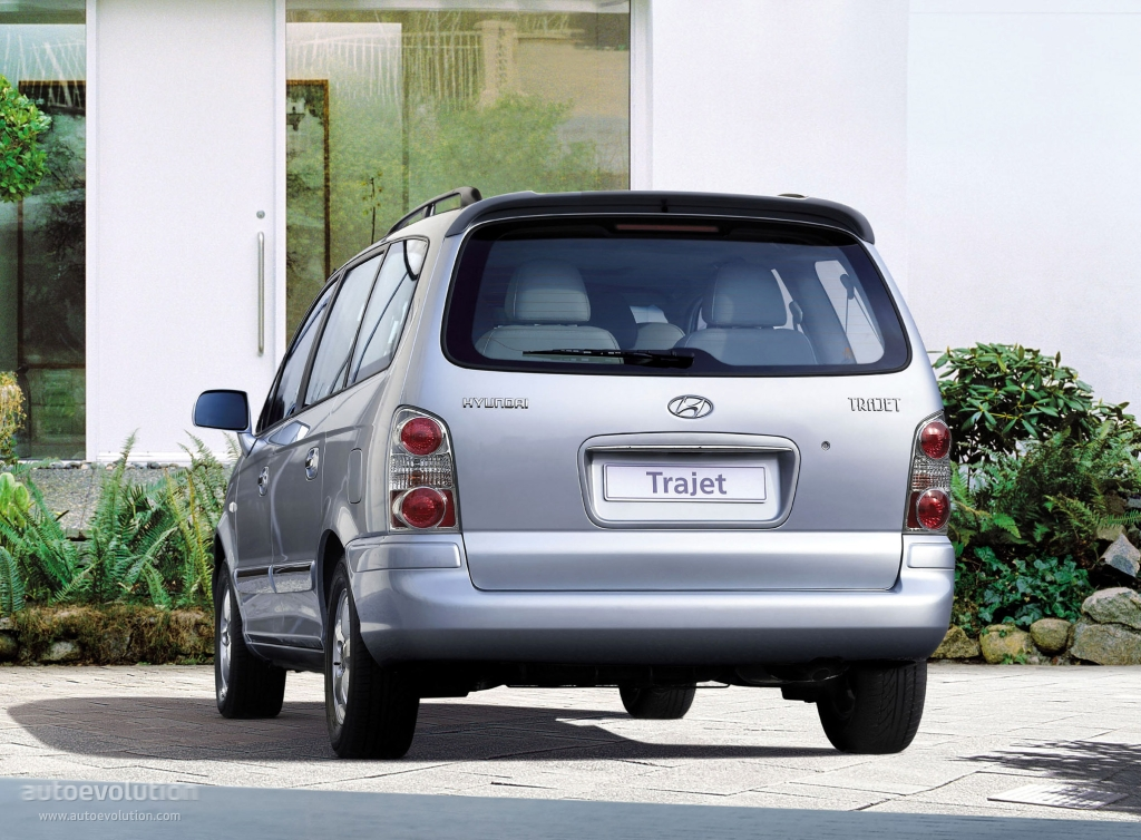 Hyundai Trajet I Restyling 2004 - 2008 Compact MPV #4