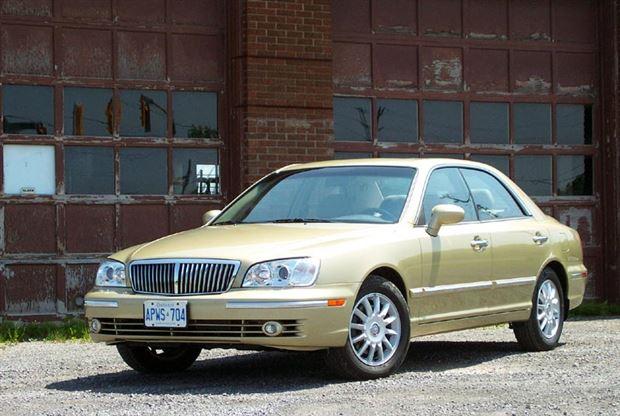 Hyundai XG I 1998 - 2003 Sedan #2