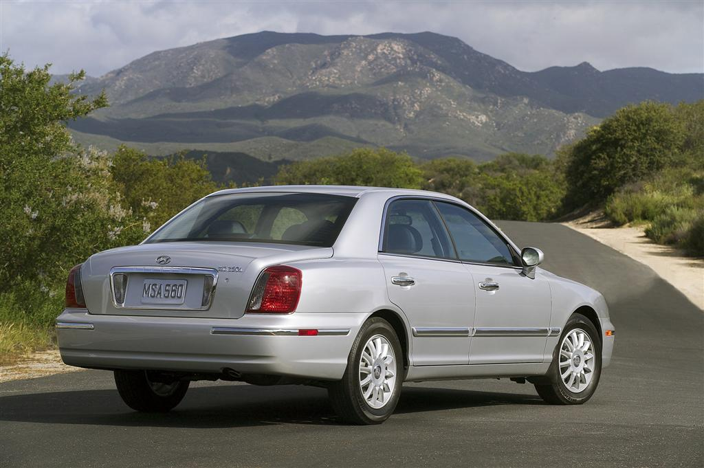 Hyundai XG I Restyling 2003 - 2005 Sedan #2