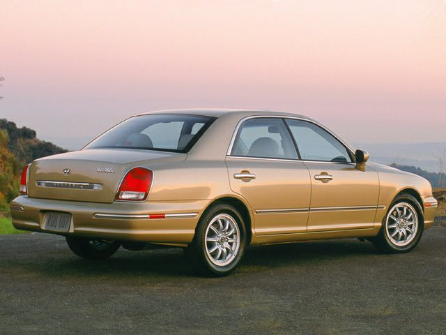Hyundai XG I Restyling 2003 - 2005 Sedan #4