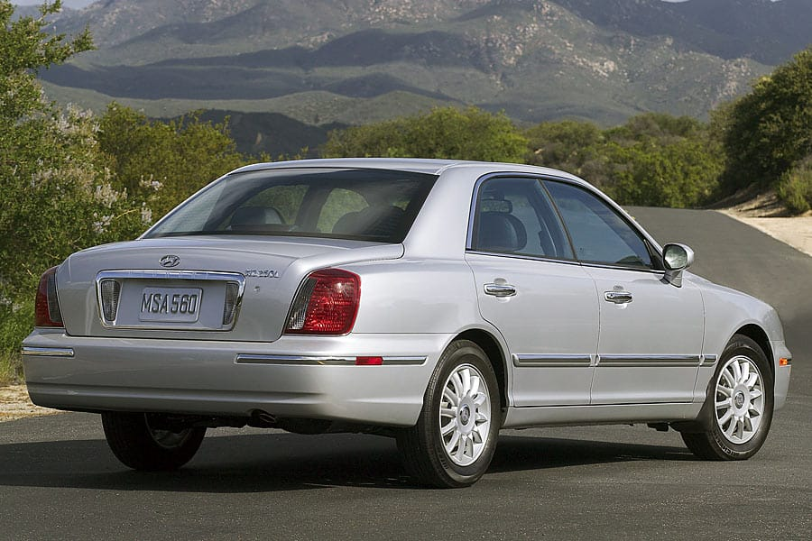 Hyundai XG I Restyling 2003 - 2005 Sedan #5