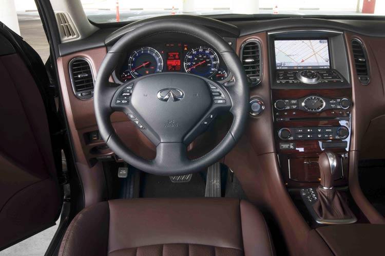 Infiniti EX 2007 - 2014 SUV 5 door #6