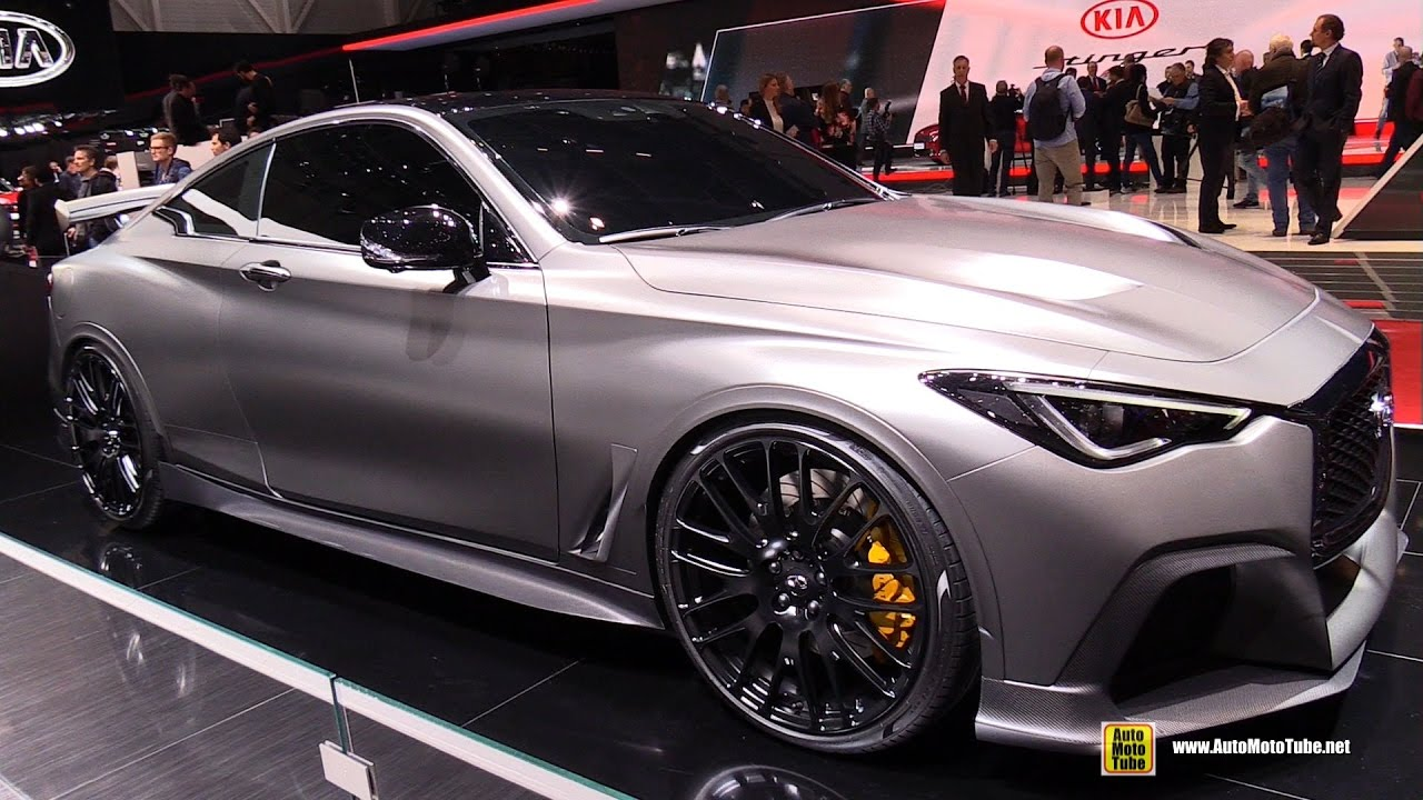 Infiniti Q60 II 2016 - now Coupe #5