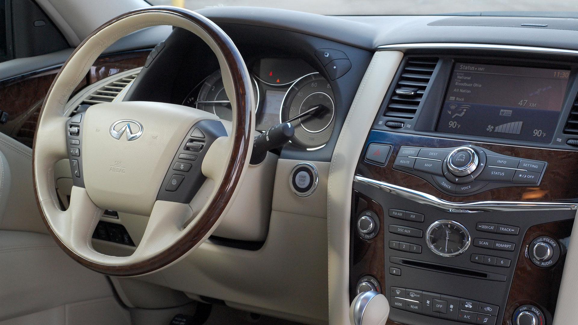 Infiniti QX56 II 2010 - 2014 SUV 5 door #6