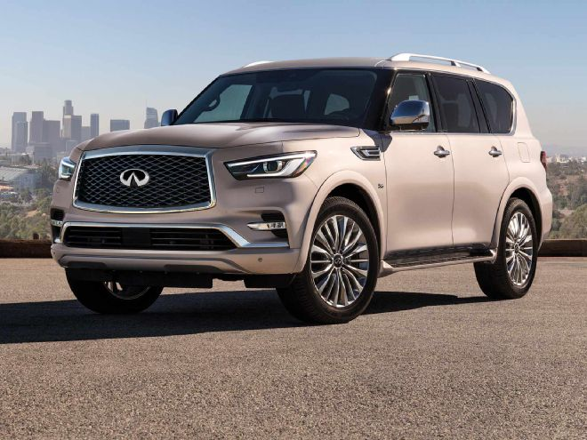 Infiniti QX80 I Restyling 2 2017 - now SUV 5 door #8