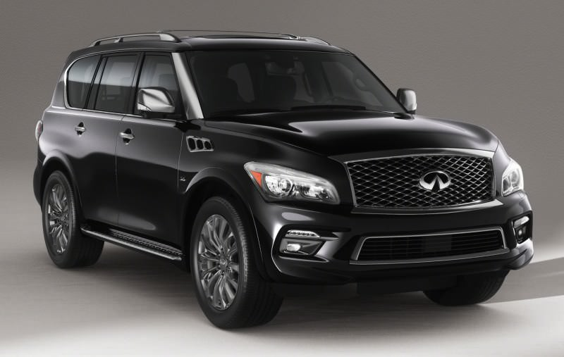 Infiniti QX80 I Restyling 2 2017 - now SUV 5 door #3