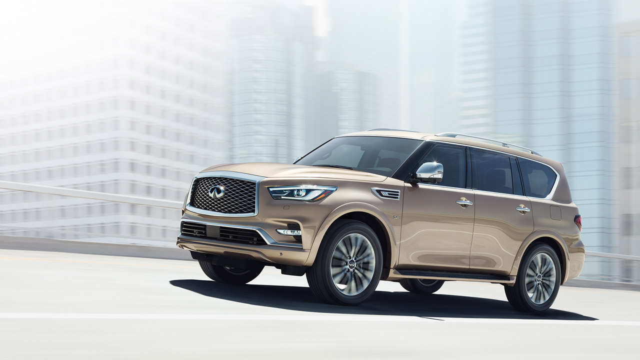 Infiniti QX80 I Restyling 2 2017 - now SUV 5 door #6