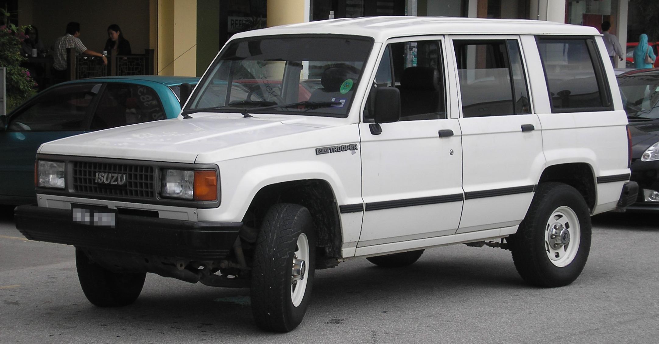 Subaru Bighorn II 1991 - 1992 SUV 5 door #6