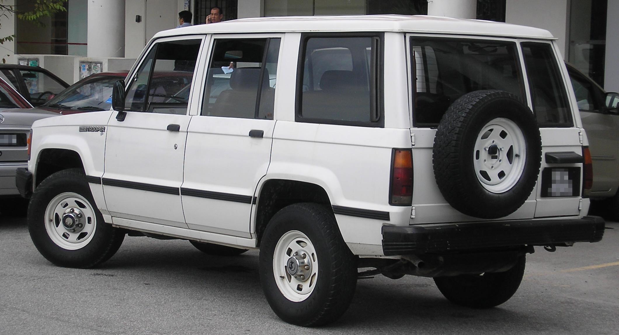 Subaru Bighorn II 1991 - 1992 SUV 5 door #4