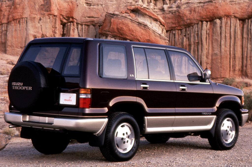 Subaru Bighorn II 1991 - 1992 SUV 5 door #1