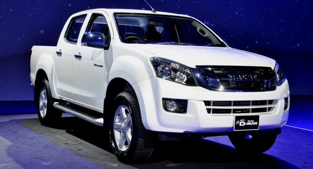 Isuzu D-Max II 2012 - now Pickup #8