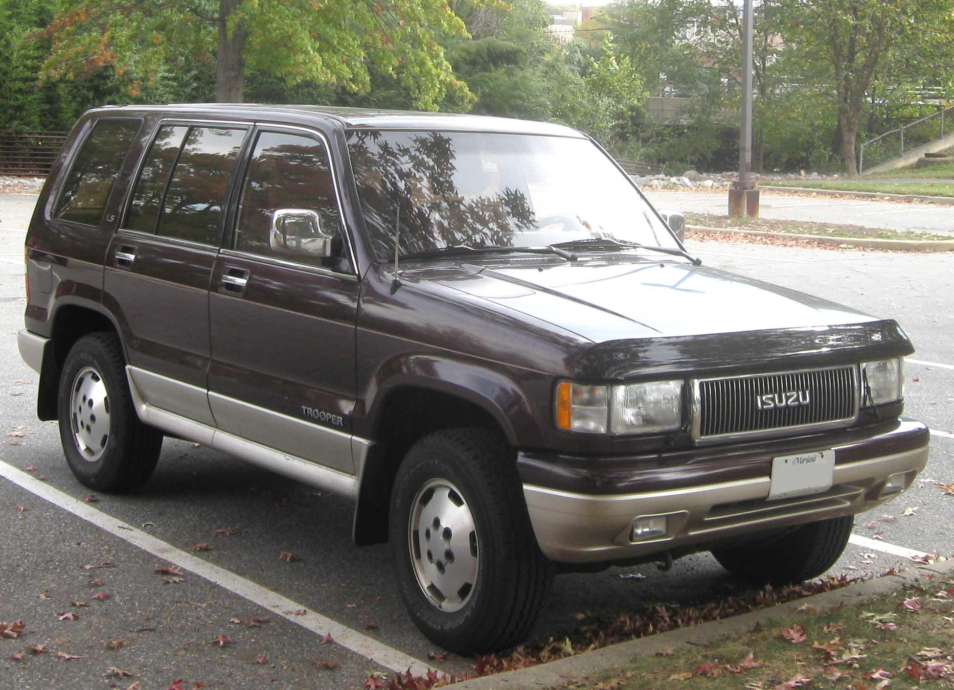 Subaru Bighorn II 1991 - 1992 SUV 5 door #3