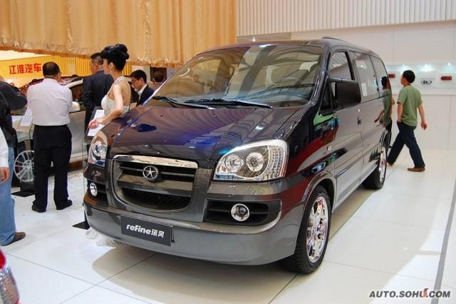 JAC M1 (Refine) 2006 - now Minivan #5