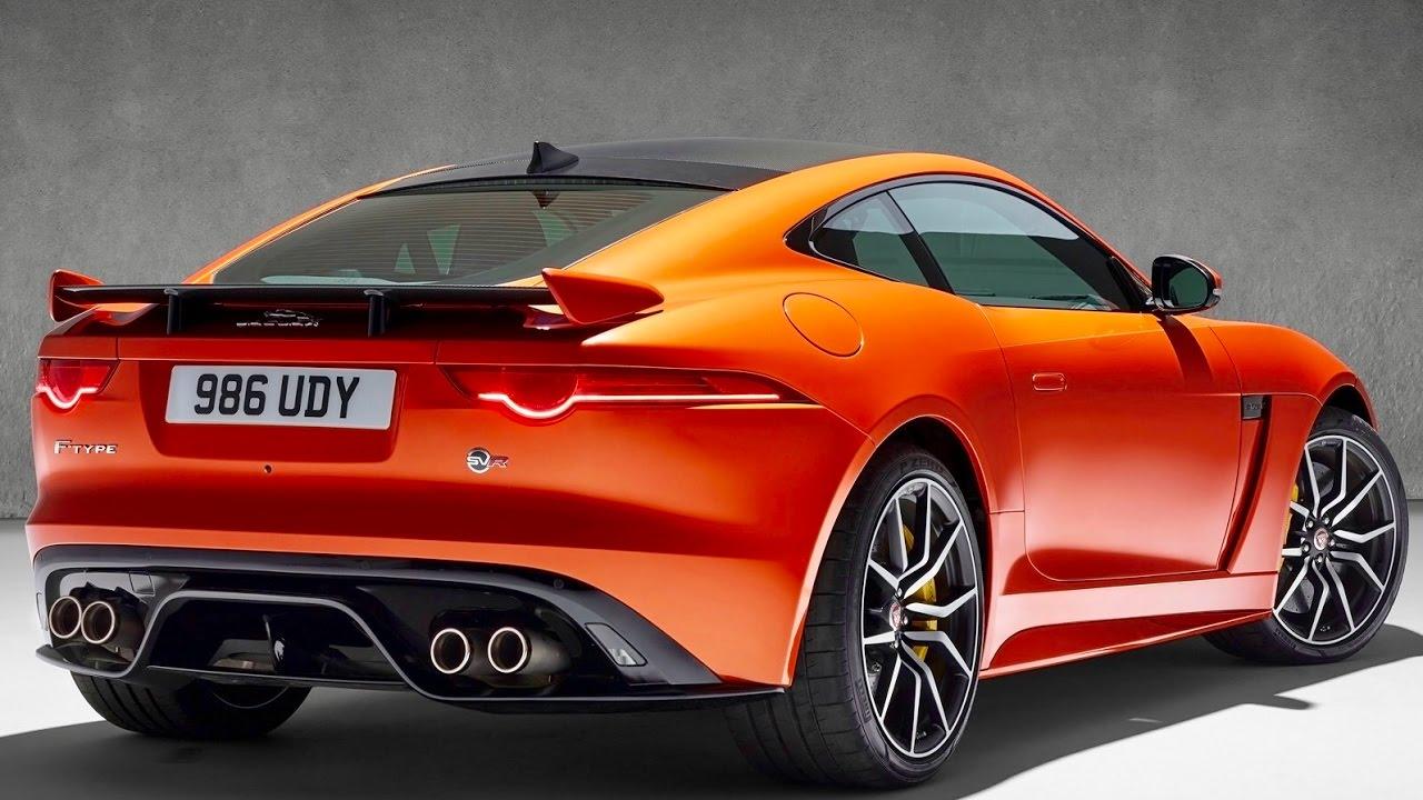 Jaguar F-Type SVR 2017 - now Coupe #3